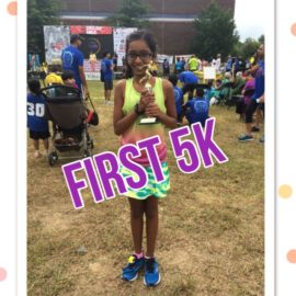 Miss FauxRunner's First 5k Race