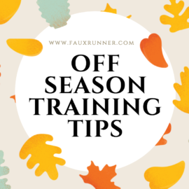 Off Season Training Tips