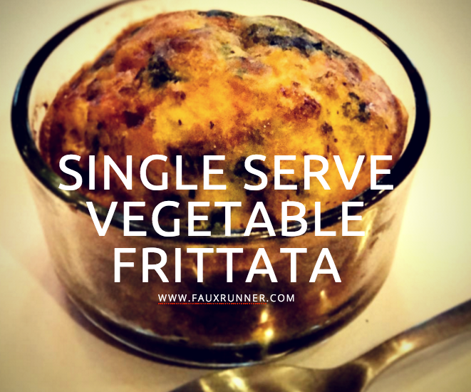 Single Serve Vegetable Frittata