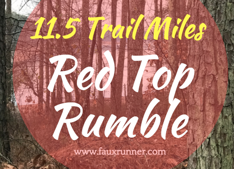 Red Top Rumble – My First Trail Race