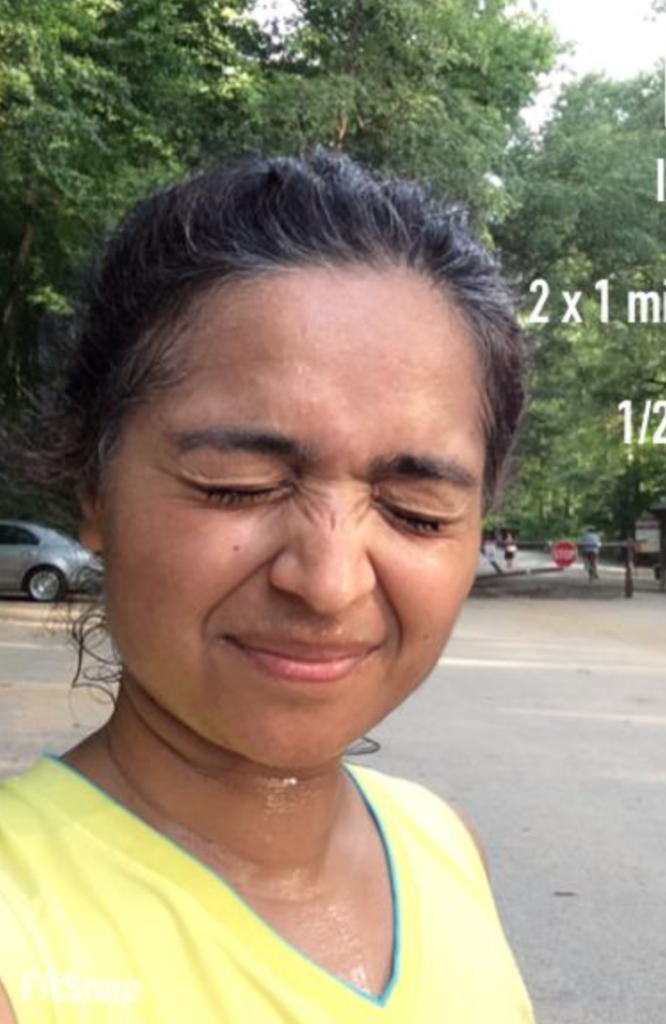 Running in high humidity