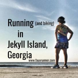 Running in Jekyl Island, Georgia Coast