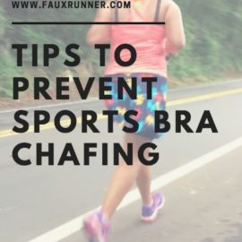 Tips to prevent Sports Bra Chafing
