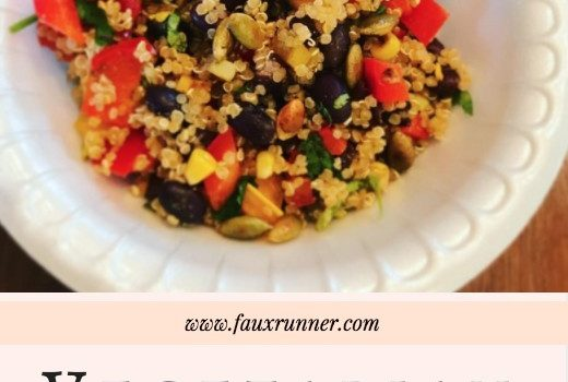 Vegetarian Quinoa Bowl