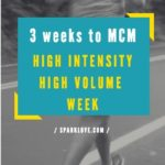 High Intensity and High Volume – 3 Weeks to MCM