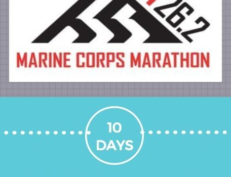 10 Days to Marine Corps Marathon