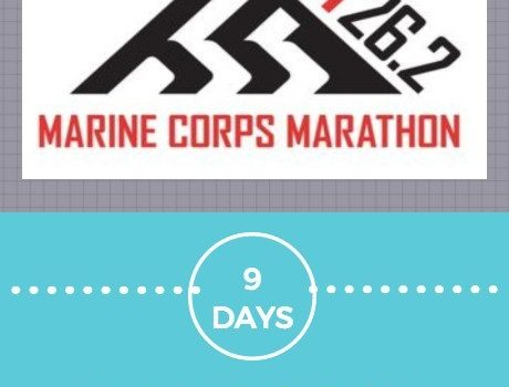 9 Days to Marine Corps Marathon