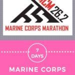 7 Days to Marine Corps Marathon