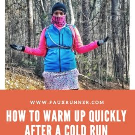 How to Warm Up Quickly after a Cold Run