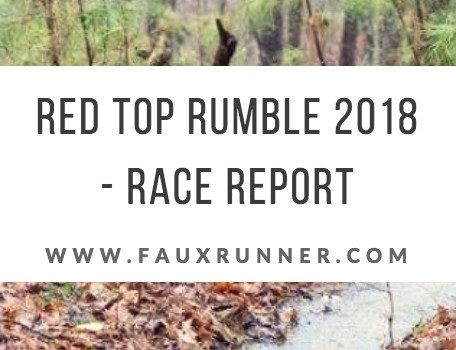 Red Top Rumble Race Report