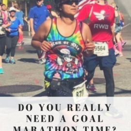 Do you really need a goal marathon time?