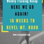 Weekly Training Recap – Here we go again!