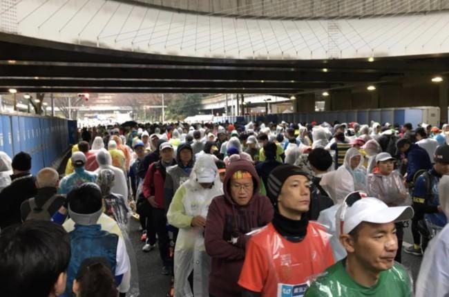 Tokyo Marathon Toilets