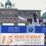 15 Weeks to Berlin: Training Recap