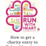 How to get a charity entry to Tokyo Marathon