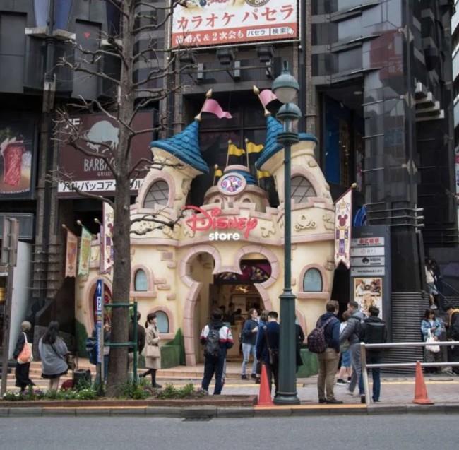 Disney Store Shibuya Tokyo to get tickets for Tokyo Disney Sea