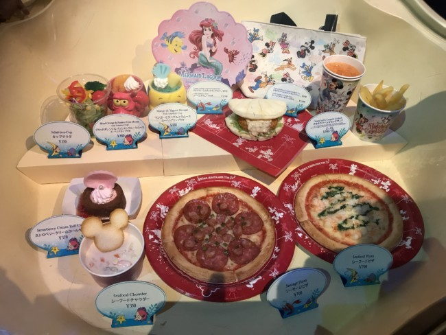 Food at  Tokyo Disney Sea